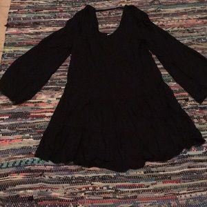 Adam Levine mini black dress M